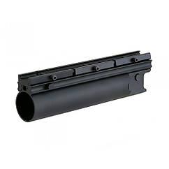 40mm подствольный гранотомет GRENADE LAUNCHER (LONG) - BLACK [BD] (для страйкбола)