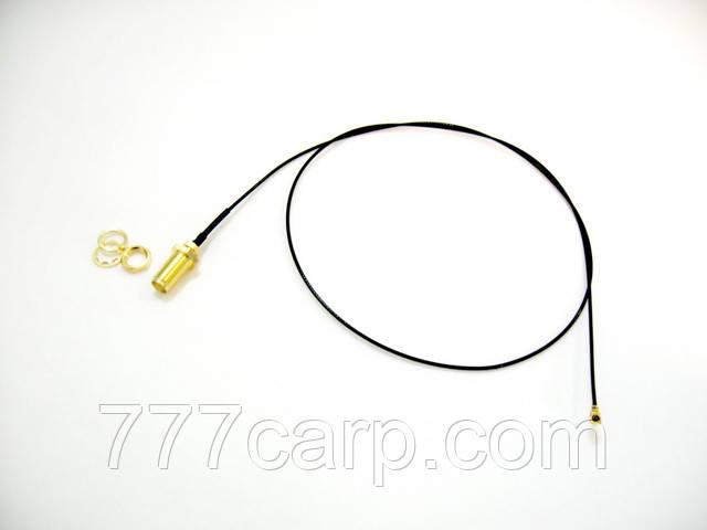 Коаксиальный кабель 100 см для антенны 433 Mhz с SMA разъемом для подключения беспроводного эхолота