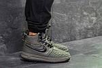 Мужские зимние кроссовки Nike Lunar Force 1 Duckboot (темно-зеленые) 10085, фото 2