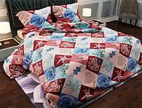 Семейный набор хлопкового постельного белья из Бязи Gold 15861 Черешенка BC4G15861, КОД: 1891501