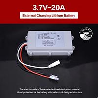 Аккумулятор 3.7V 20А литиевый для прикормочных корабликов JABO