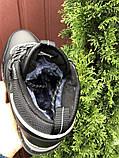 Кроссовки зимние Reebok черные (мех, натуральная кожа), фото 2