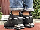 Кроссовки зимние Reebok черные (мех, натуральная кожа), фото 5