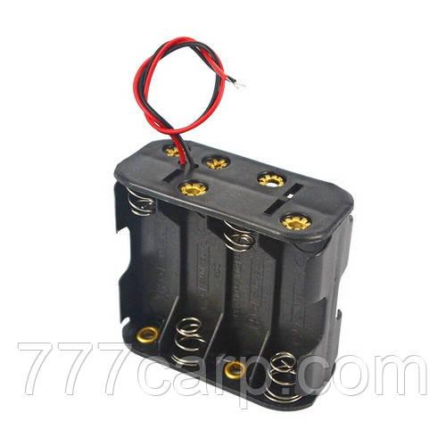 Слот, держатель батарей АА 8 шт 1,5В для подключения внешнего питания датчик беспроводного эхолота кораблика