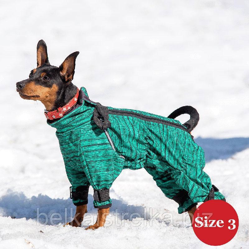 Комбинезон для собак DIEGO Snow M для мальчиков, размер 2