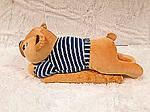 Плед - мягкая игрушка 3 в 1  Медвежонок в синей тельняшке (118), фото 4