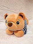 Плед - мягкая игрушка 3 в 1  Медвежонок в синей тельняшке (118), фото 5