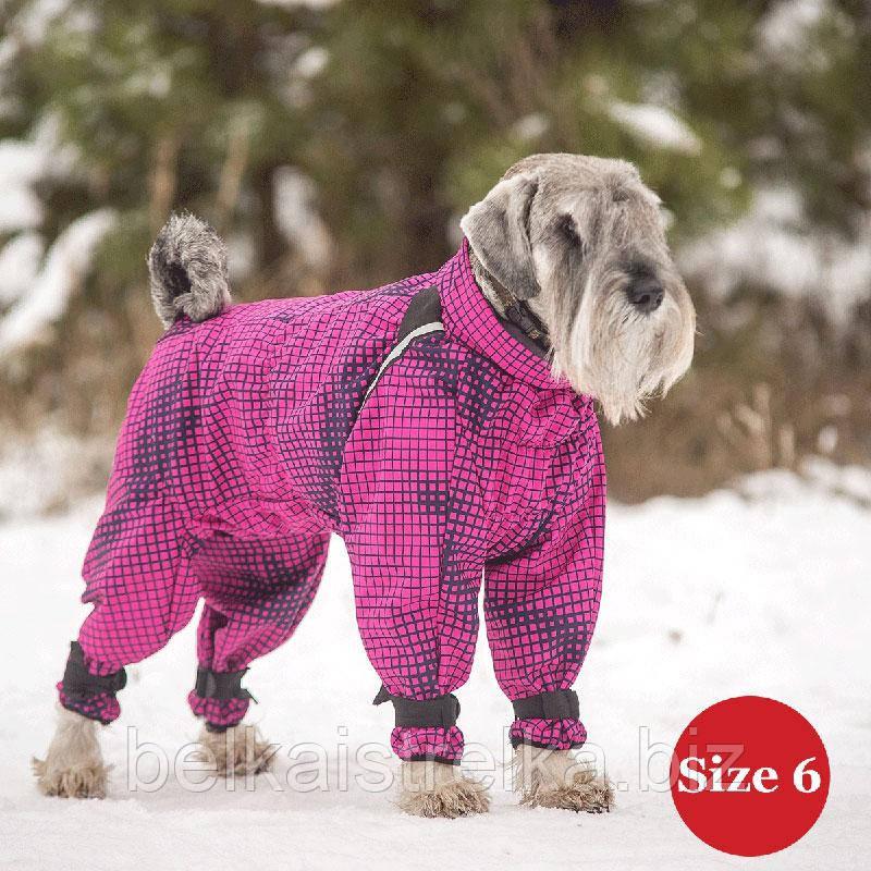 Комбинезон для собак DIEGO Snow F для девочек, размер 6 желтый