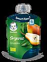 8218_Годен_до_30.04.21 Гербер пюре фруктове «Органічна груша» для дітей з 6 місяців, 90г, фото 2
