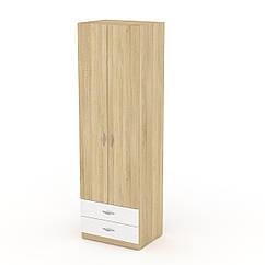 Шкаф для вещей 12 Компанит дуб сонома + белый, КОД: 2350953