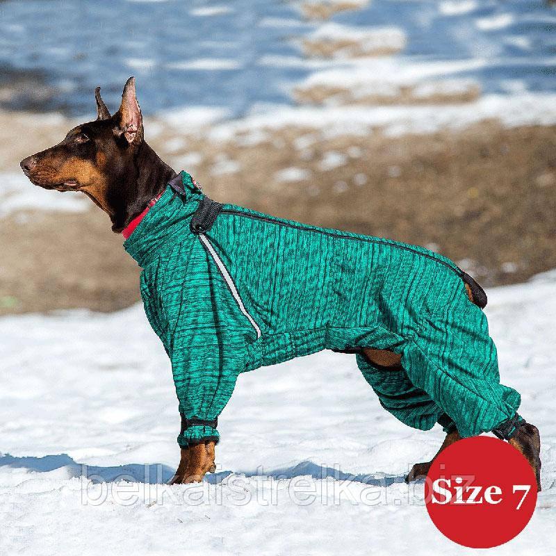 Комбинезон для собак DIEGO Snow M для мальчиков, размер 7