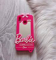 Чехол на Huawei Y9 2019 Барби Barbie розовый