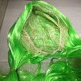Парик салатовый хвостики длинный 70 см, фото 5