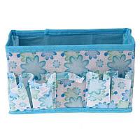 Органайзер коробка для мелочей (голубой)