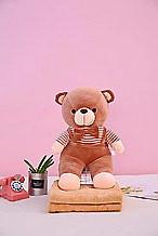 Плед - м'яка іграшка 3 в 1 Ведмедик коричневий (122)