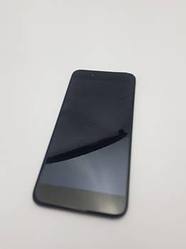 С дефектом. Дисплей Xiaomi Mi A1 модуль черный сервисный Оригинал с разборки