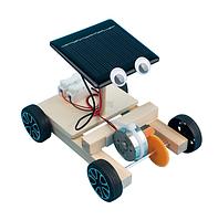 Машинка конструктор с солнечной панелью., фото 1