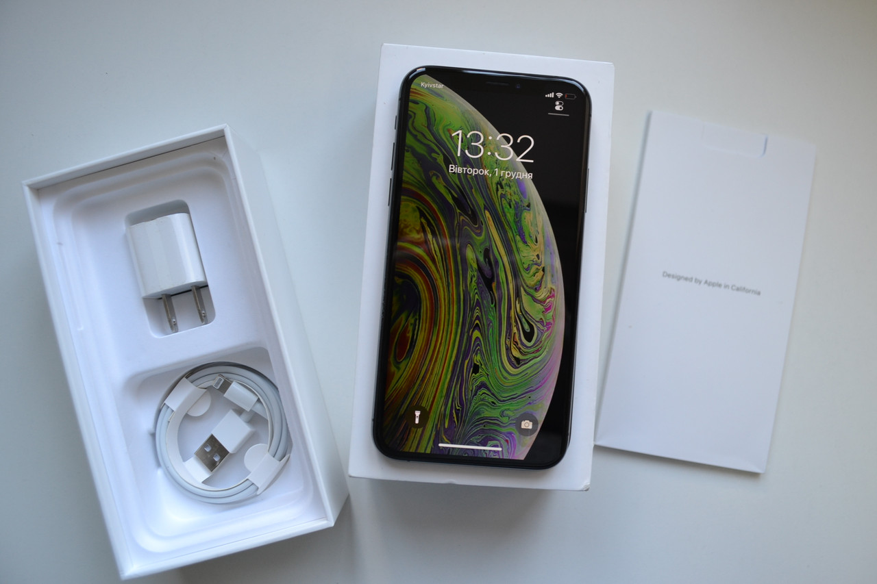 Apple Iphone XS 64Gb Space Gray Neverlock Оригинал!