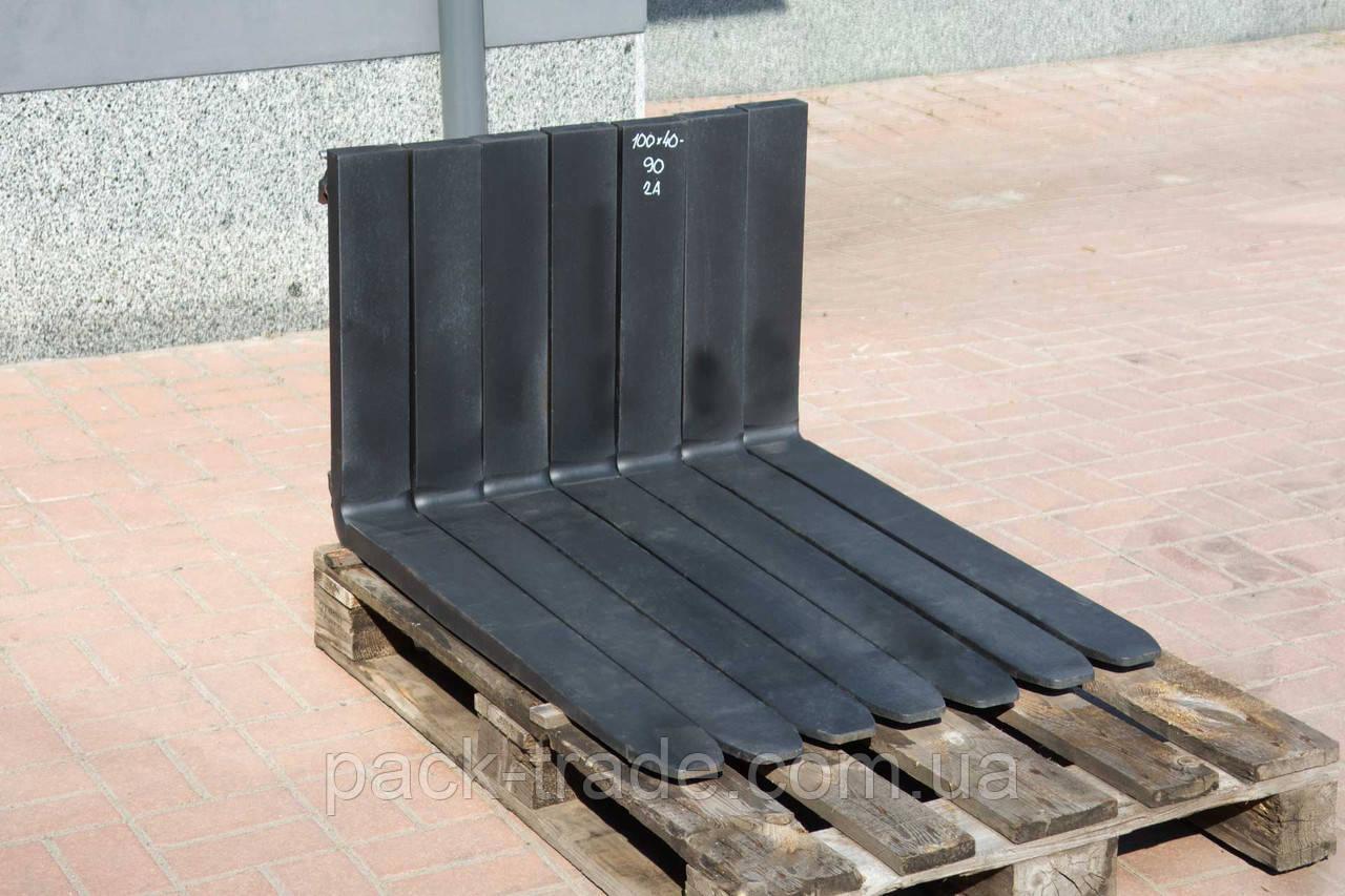Вилы для погрузчика 2А, 100х40х900 мм Англия №1000463