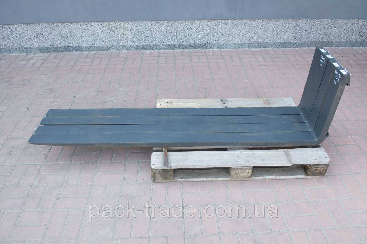 Вилы для погрузчика 2А, 100х40х2000 мм Германия №1000468