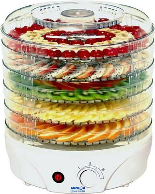Електросушарка для овочів і фруктів