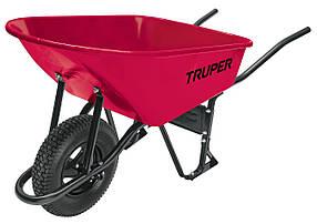 Тачка будівельна Truper з посиленою пневматичною шиною 16 ND 100 літрів CAT-60ND, КОД: 2380419