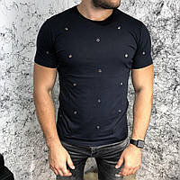 Valentino T-Shirt Hole Dot Black