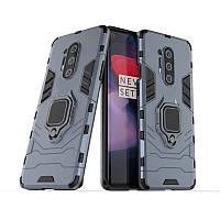 Чехол Ring Armor для OnePlus 8 Pro Blue