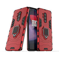 Чехол Ring Armor для OnePlus 8 Pro Red