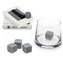 Камни для виски HMD Whiskey Stones 9 шт Светло-серый 187-1843368, КОД: 1558786, фото 3