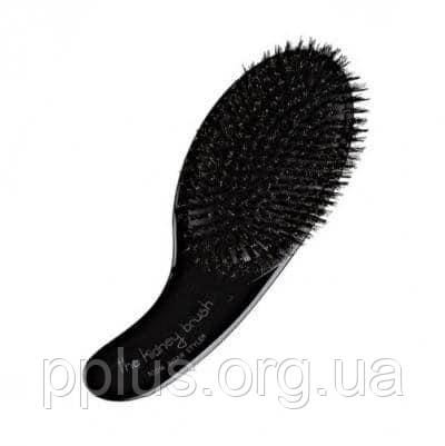 Щетка Olivia Garden Kidney Brush 100% Boar (черная) BR-KI1PC-BOBLA, фото 2