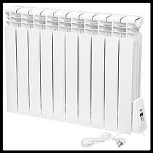 Електрорадіатор Flyme Standart 10 секцій / терморегулятор / 990 Вт
