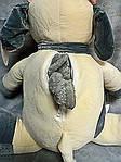 Плед - мягкая игрушка 3 в 1  Коровка с шарфиком ванильно - серая (129), фото 4
