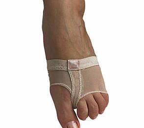 Контемпки носочки для балету танців тілесні бежеві сіточка, фото 2