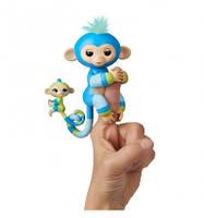 Інтерактивна гламурна ручна мавпочка WowWee Fingerlings Біллі з міні-мавпочкою W3540 3541, КОД: 2432989