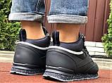 Темно-синие зимние кроссовки Reebok из натуральной кожи, фото 2