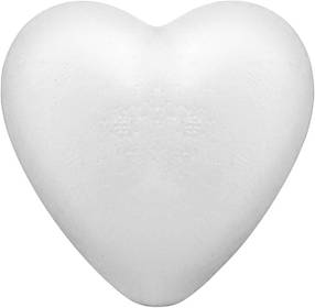 Пенопластовая заготовка сердце Knorr Prandell 9 см, КОД: 1936419