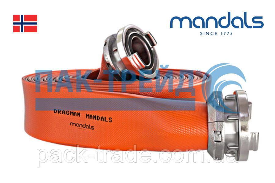 Плоскосворачиваемые, мягкие шланги Mandals Dragman
