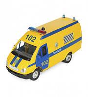 Автомодель Технопарк Газель Полиция желтая CT-1276-17PU, КОД: 2431037