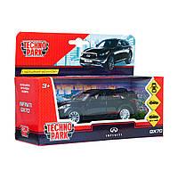 Автомодель Технопарк Infiniti QX70 черный QX70-BK, КОД: 2431851