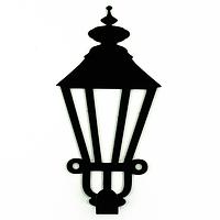 Вешалка настенная Крючок Glozis Lamppost H-022 13 х 9 см, КОД: 241751