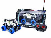 Багги-квадроцикл полицейский на радиоуправлении 27-2B, Белый
