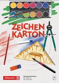 Альбом для рисования А3 Brunnen клеенный блок обложка офсетный картон 190 г м2 10 листов 1047343, КОД: 1931325
