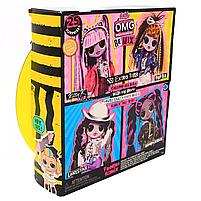 Кукла ЛОЛ ОМГ Remix O.M.G. L.O.L. Surprise Диско-леди (567257), фото 3