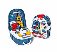 """Детский игровой набор """"Портфель строителя"""" 7F704 с инструментами, фото 1"""