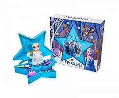 Детский игровой набор с косметикой куклой и аксессуарами FROZEN BX-136