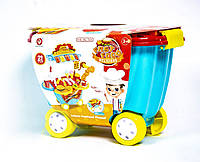"Детский игровой набор тележка-кухня ""Фастфуд"" 922-93, фото 1"