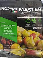 Комплексное водорастворимое  удобрение с хелатными микроэлементами Мастер 25 грамм Валагро Италия