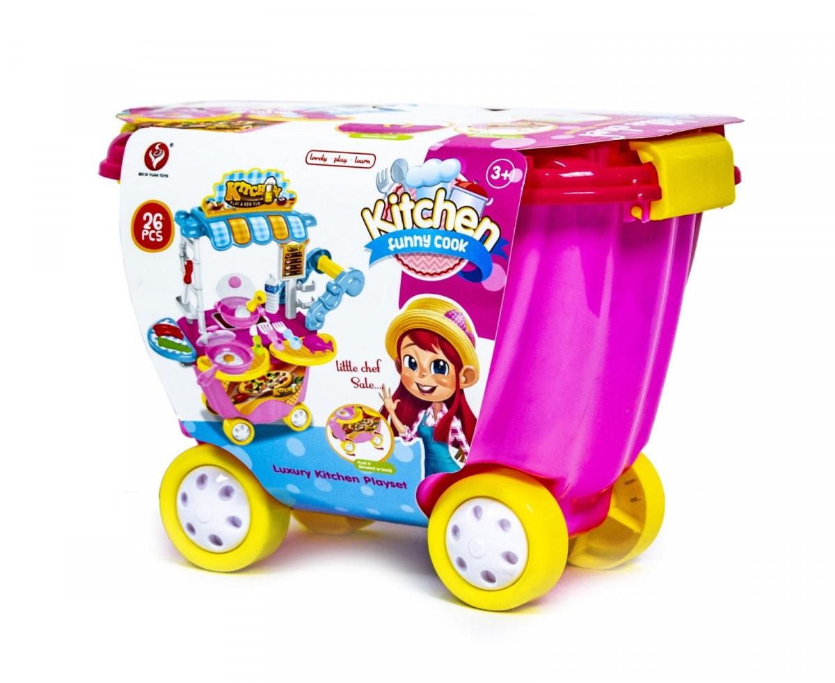 Детский игровой набор тележка-кухня 6798670 (922-92)