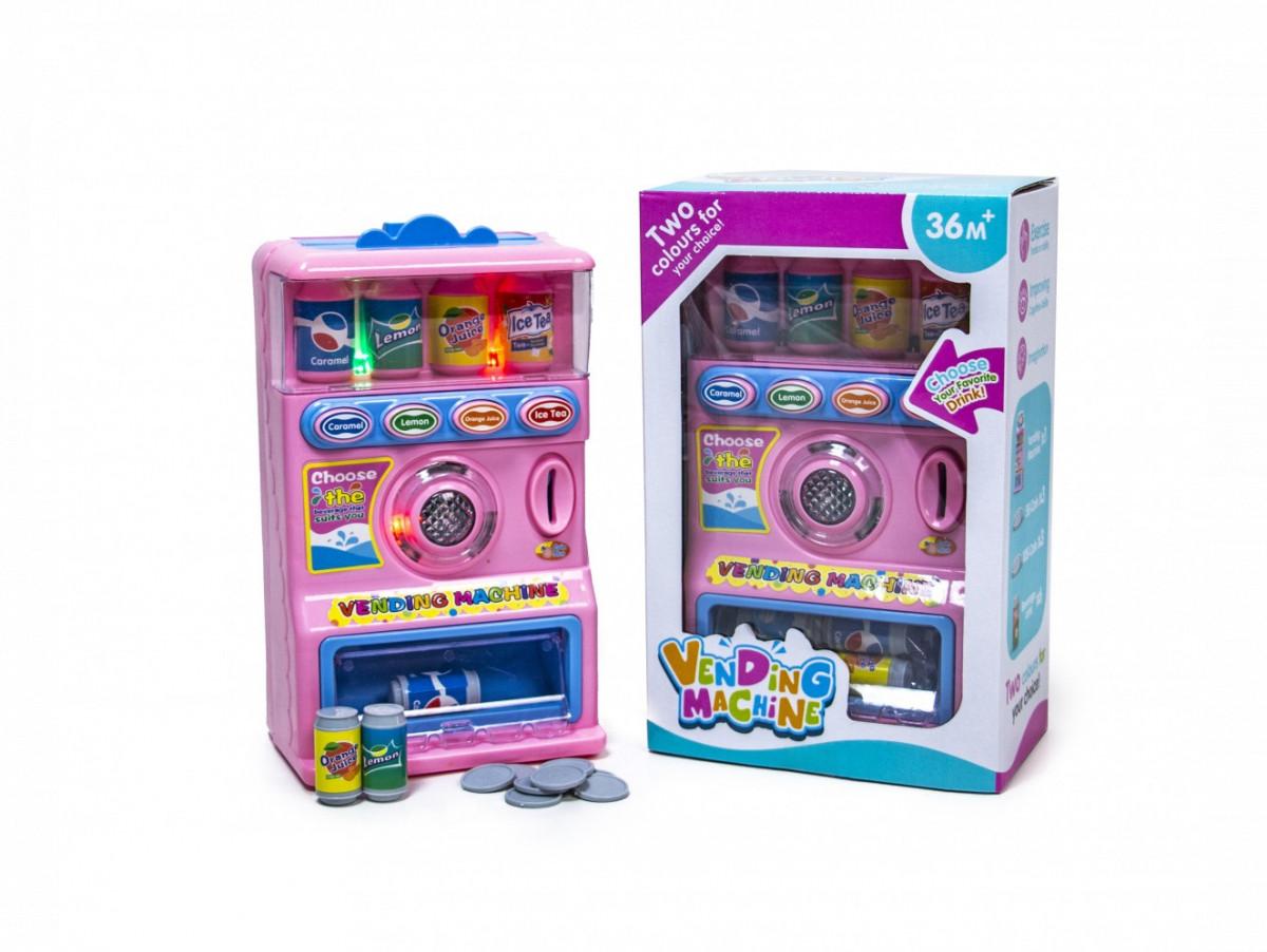 Детский игрушечный автомат с газировкой R111-1A, Розовый